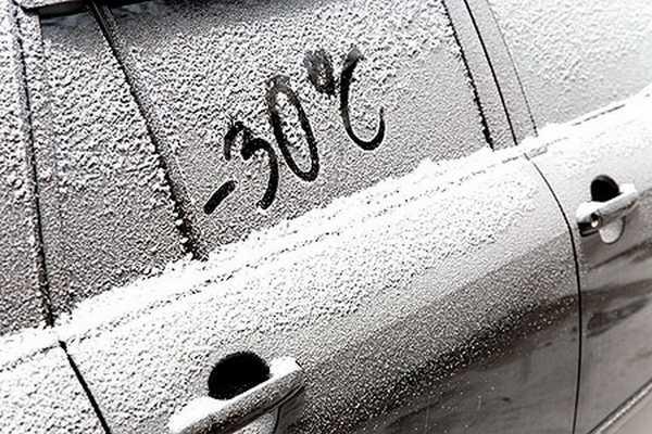 двигатель в мороз